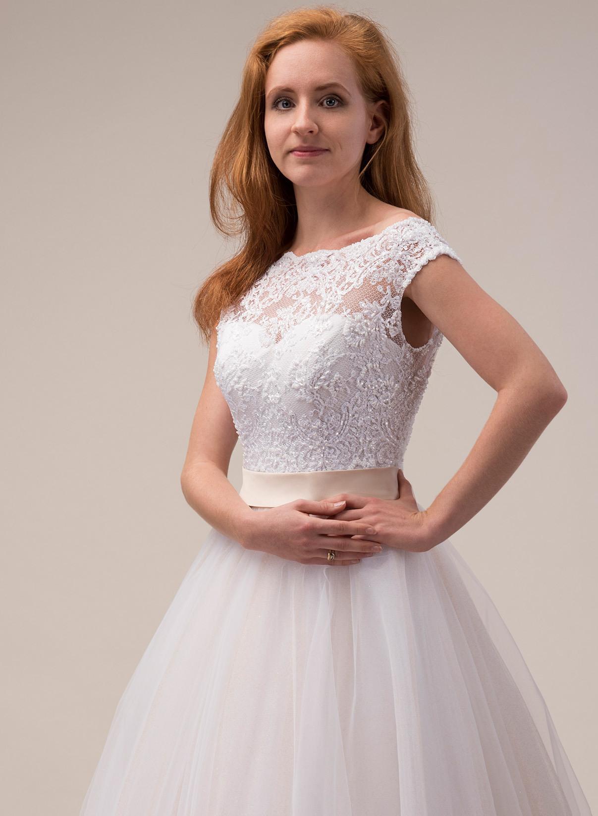 Brautkleid Hochzeitskleid Blush Puder Als Maßanfertigung