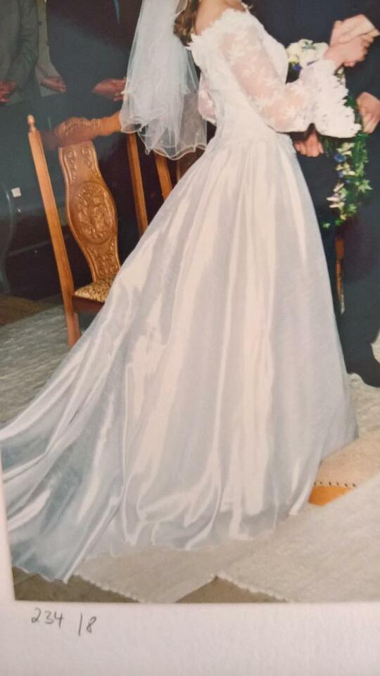 Brautkleid Hochzeitskleid Kleid Hochzeit Weiß Gr 38 In