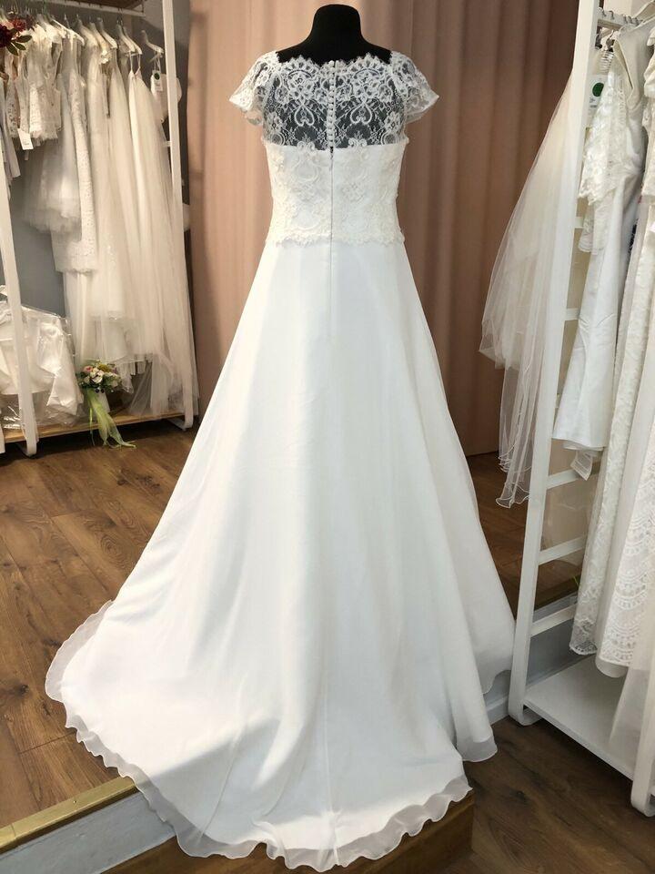 Brautkleid Hochzeitskleid Standesamt Vintage Neu Gr 42