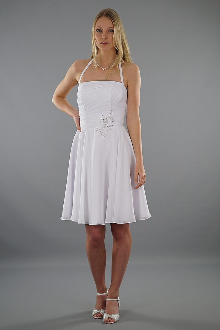 Brautkleid Luna  Kurzes Brautkleid  Hochzeitskleid Mit