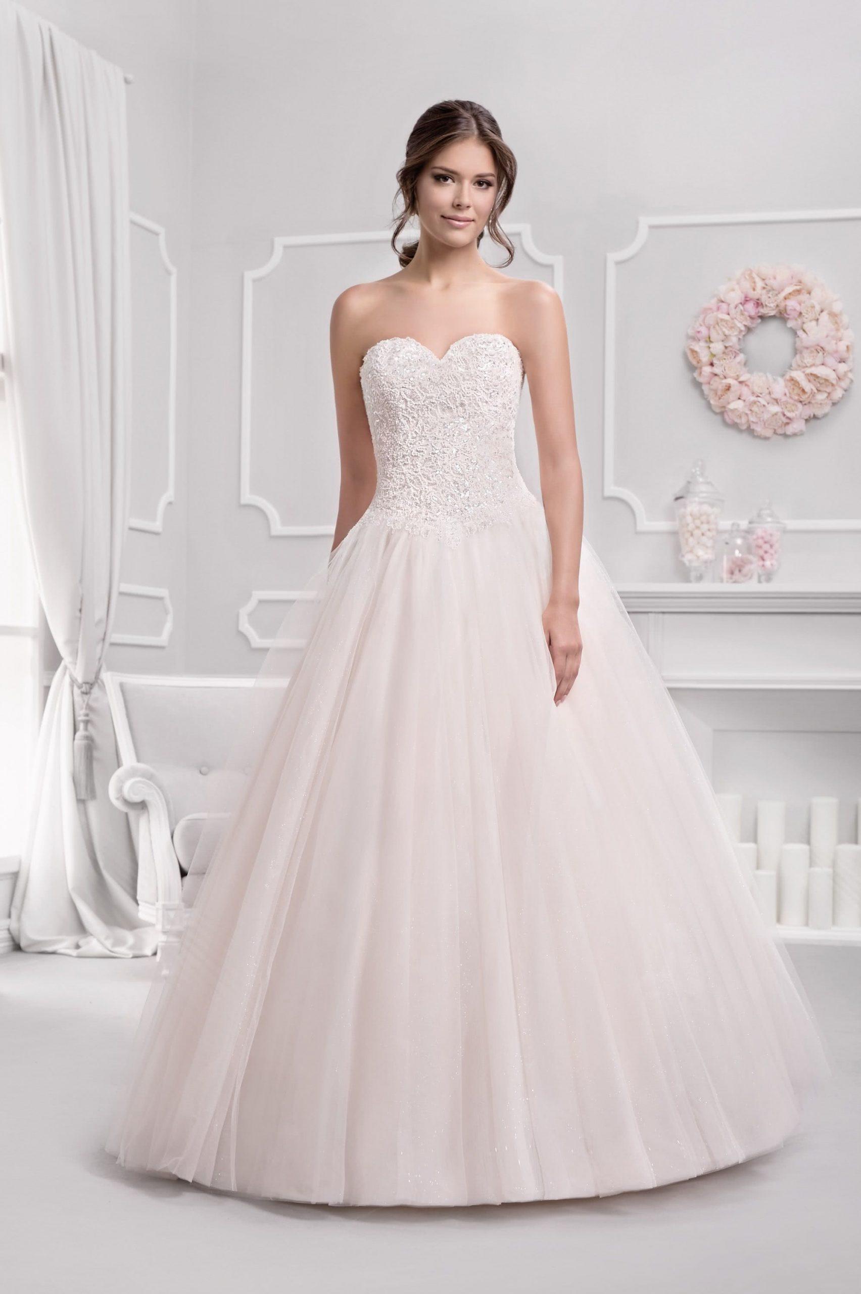 Brautkleid Prinzessin Mit Glitzer Brautkleid Hochzeit