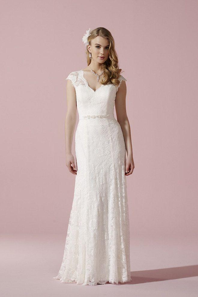 Brautkleid Von Lilly  Kleid Hochzeit Brautkleid Brautmode