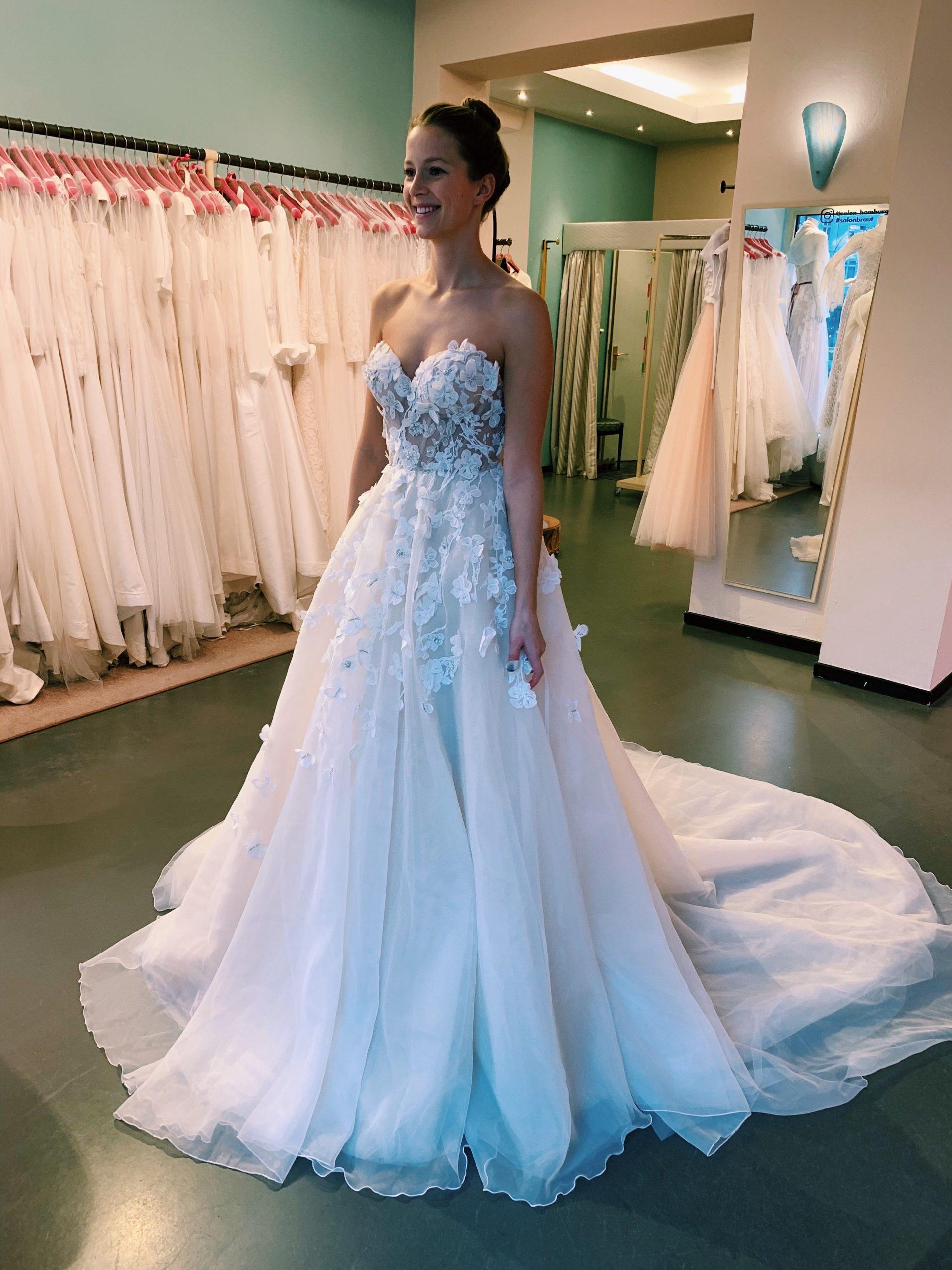 Brautkleid Von Liz Martínez  Kleider Hochzeit Kleid
