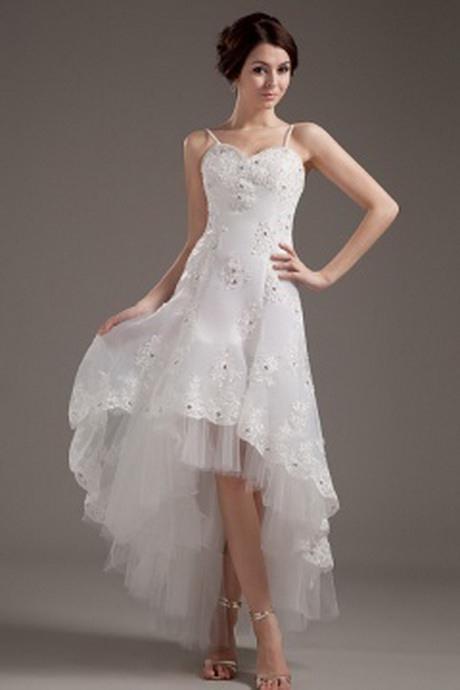 Brautkleid Vorn Kurz Hinten Lang