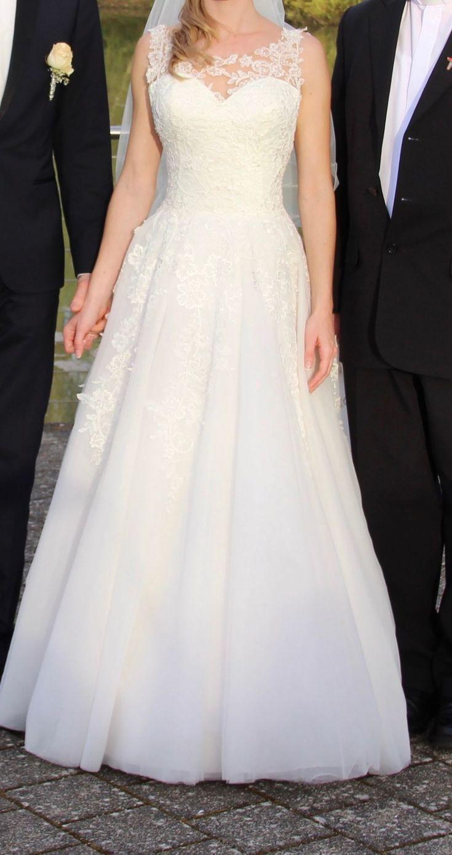 Brautkleid Wunderschönes Brautkleid  Größe 34/36  A