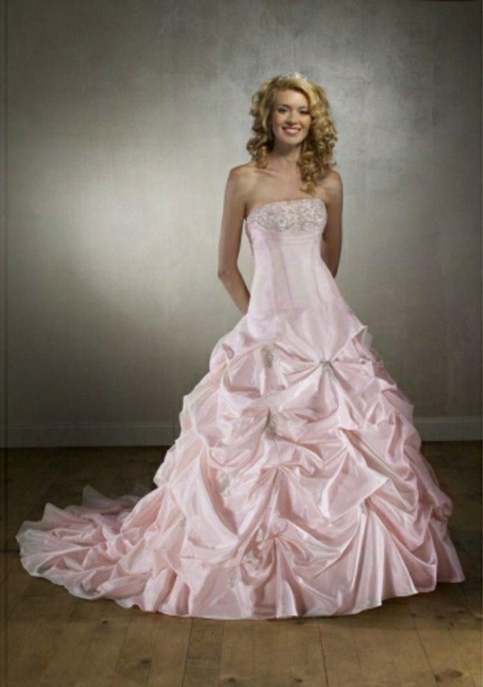 Brautkleide Rosa Lang  Braut Brautkleid Hochzeitskleid