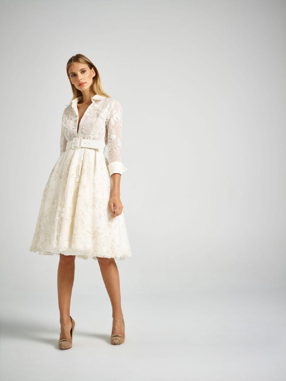 Brautkleider Für Die Standesamtliche Trauung  White And Night