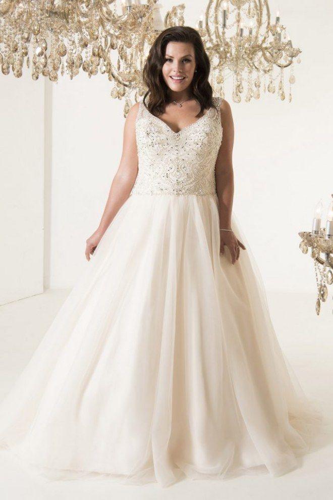 Brautkleider Für Mollige Das Sind Die Schönsten Plussize