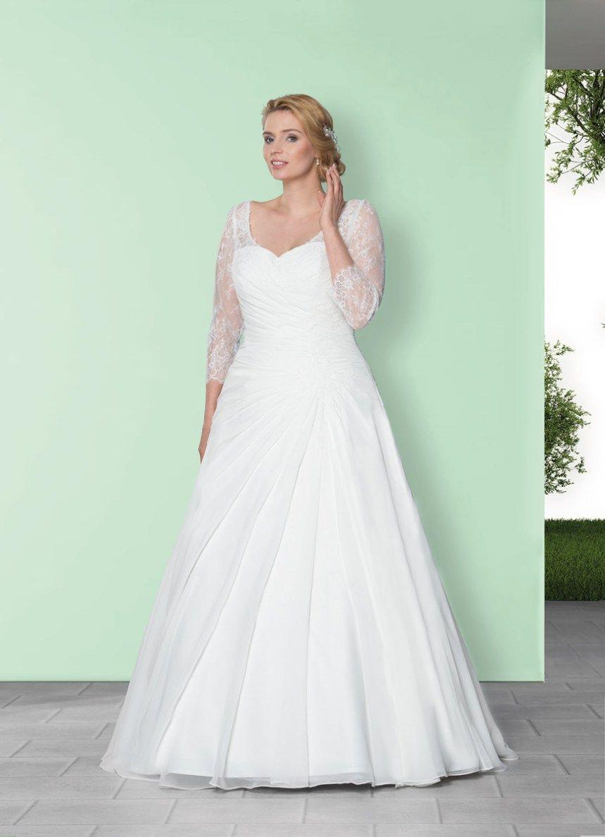 Brautkleider Große Größen 2017  Brautmode Hochzeit