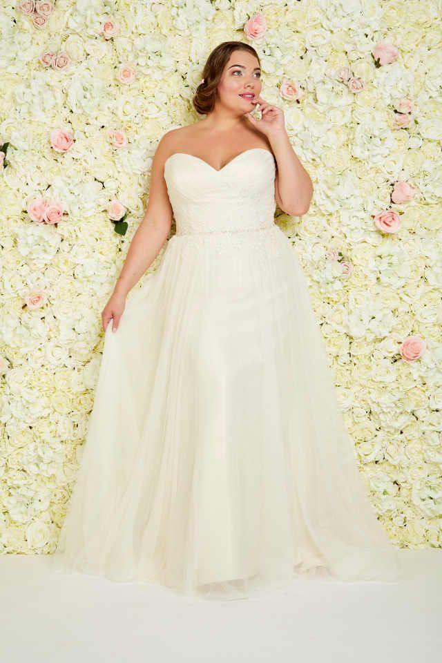 Brautkleider Große Größen  Atemberaubend Schön
