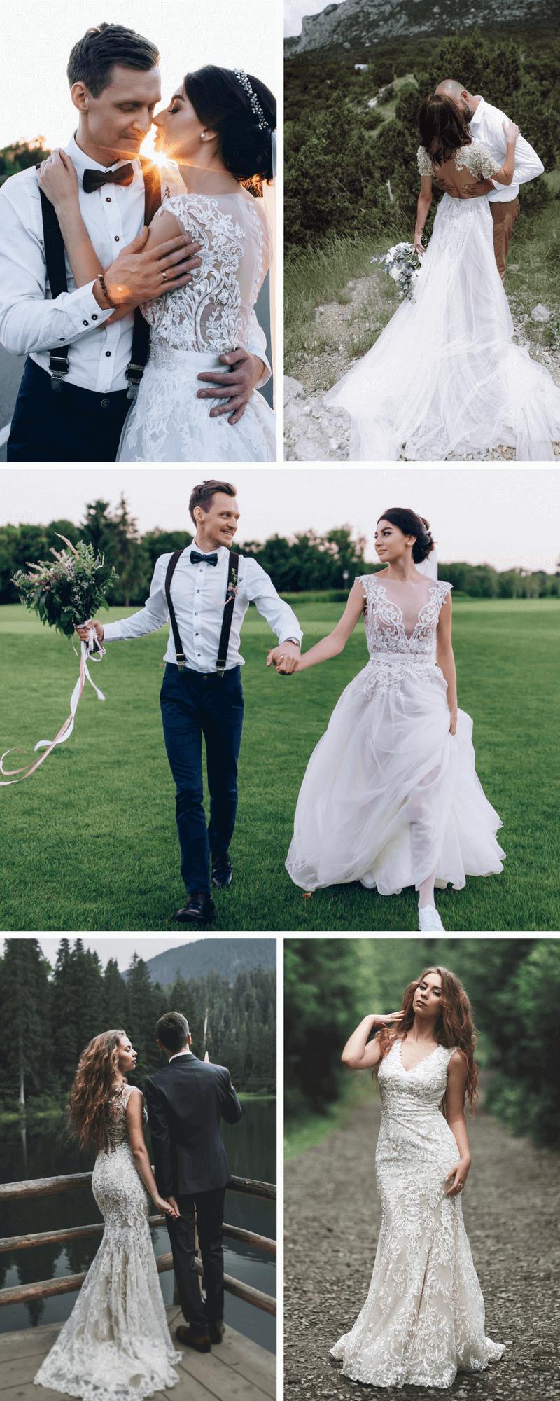 Brautkleidertrends 2018 Und 2019  Hochzeitskiste