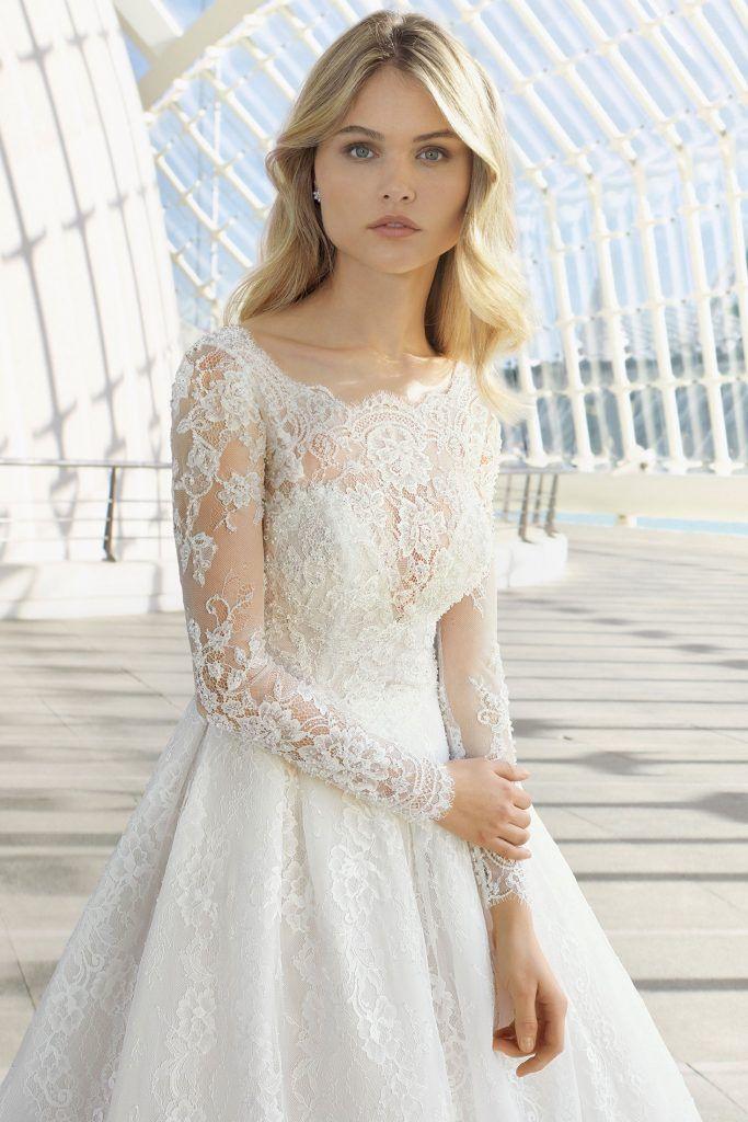 Brautmode Rosa Clara  Brautmode Hochzeitskleid Und Braut