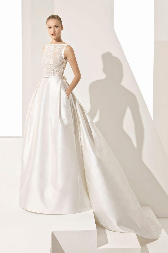 Brautmode Rosa Clara  Prächtiges Brautkleid Brautmode