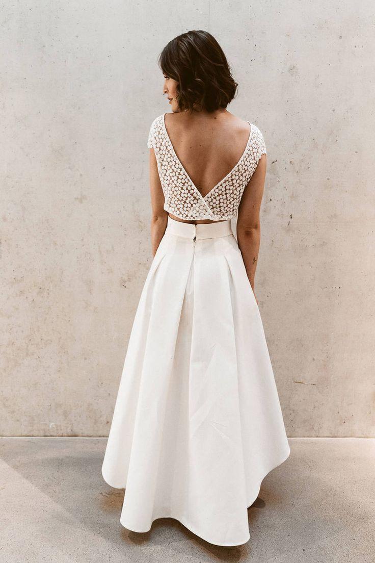 Bridal Collection — Isi Lieb  Brautkleid Schlicht Braut