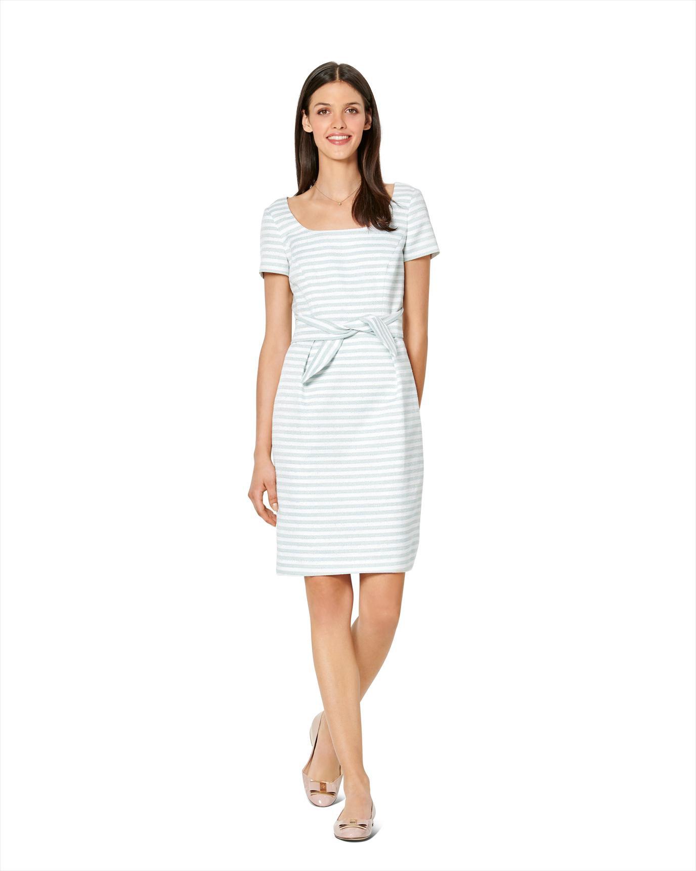 Burda 6220  Kleid  Shiftkleid  Carréausschnitt