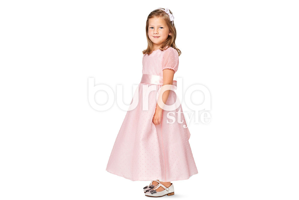 Burda Schnittmuster 9363 Kleid  Puffärmel  Online Kaufen