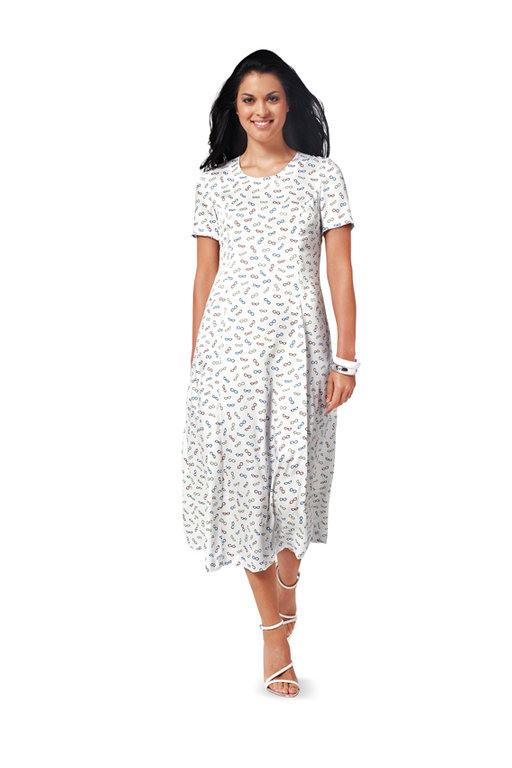 Burda Schnittmuster  Kleid 6821  Kurzwarenlandde