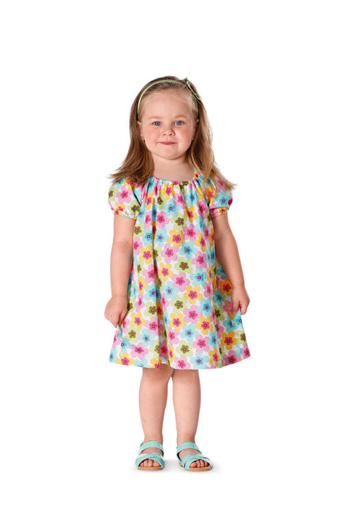 Burda Schnittmuster  Kleid  Shirt  Puffärmel 9438