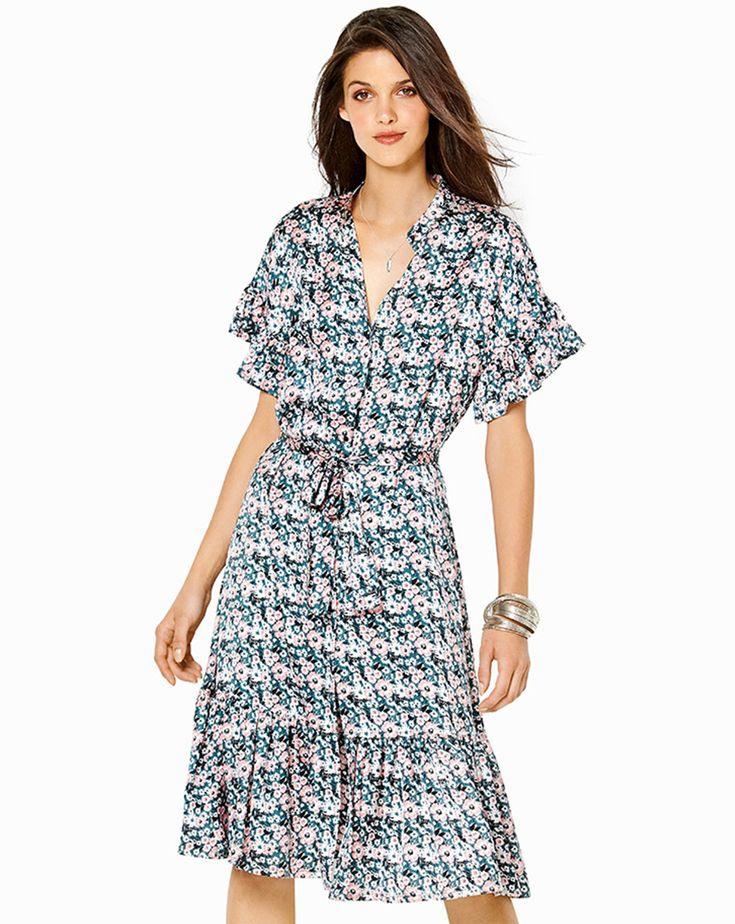 Burda Style Burda Style Katalog Schnitt Kleid Mit Volant