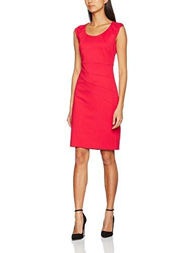 Business Kleid Comma Damen Kleid 8T702823865 Rot Red