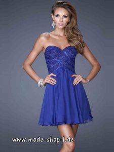 Bustie Cocktailkleid Lucinda In Blau Elegant