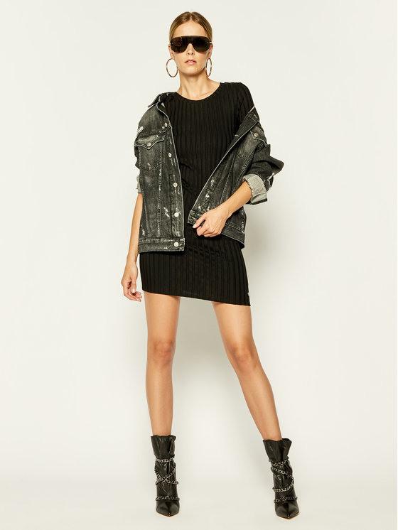 Calvin Klein Jeans Kleid Für Den Alltag Rib Ss J20J213608