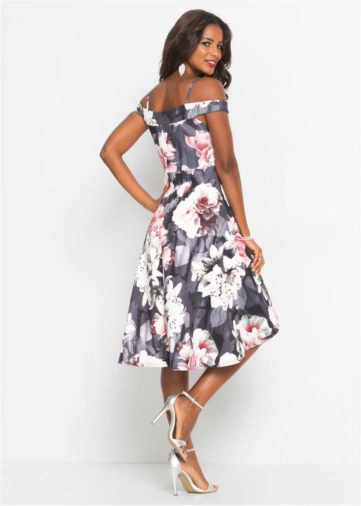Carmenkleid Mit Blumenprint In 2020 Mit Bildern