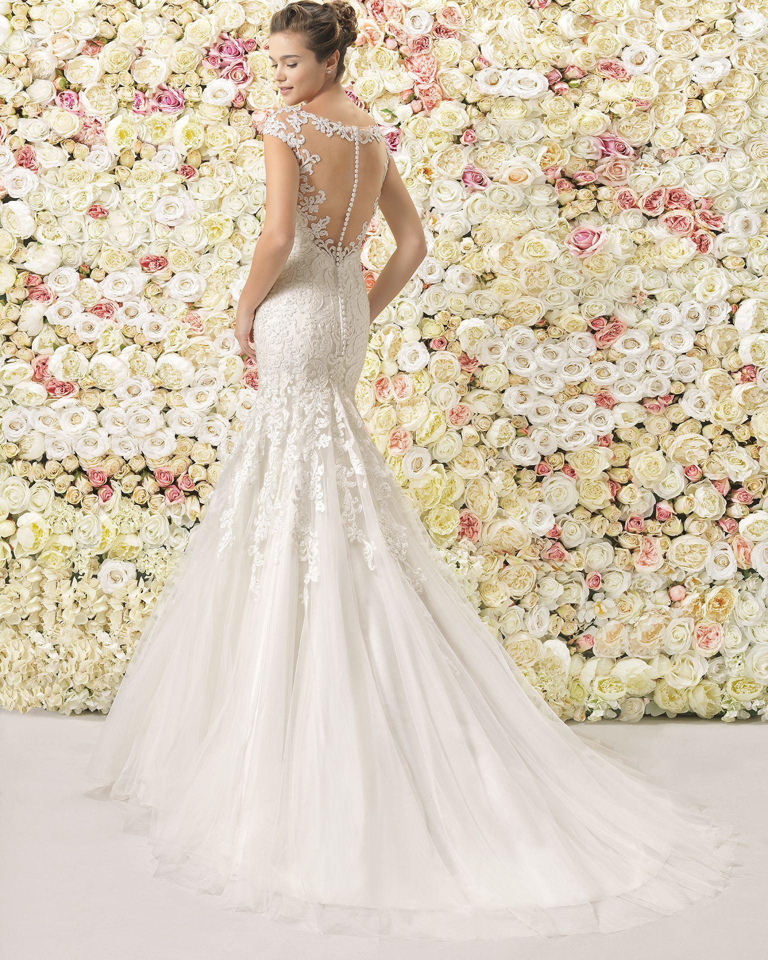 Caspio  2017 Bridal Collection Aire Barcelona  Kleid