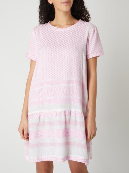 Cecilie Copenhagen Kleid Mit Kufiyamuster In Rosé Online