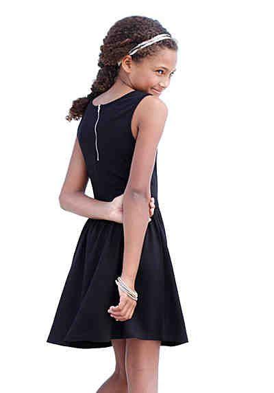 Cfl Kleid Mit Reißverschluss Hinten Für Mädchen  Kleider Kleider Für Mädchen Kleidchen
