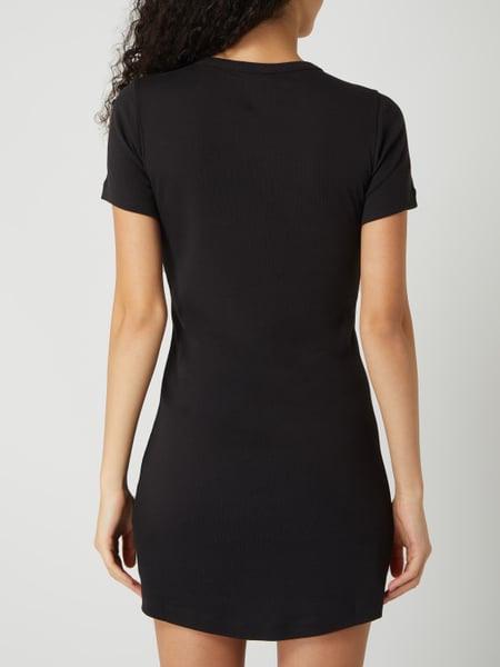 Champion Shirtkleid Aus Baumwolle In Grau / Schwarz Online Kaufen 1028986 Pc Online Shop