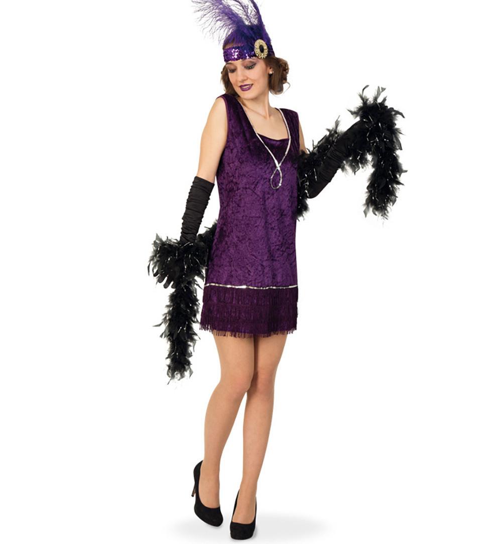 Charleston Kleid Fransenkleid 20Er Jahre