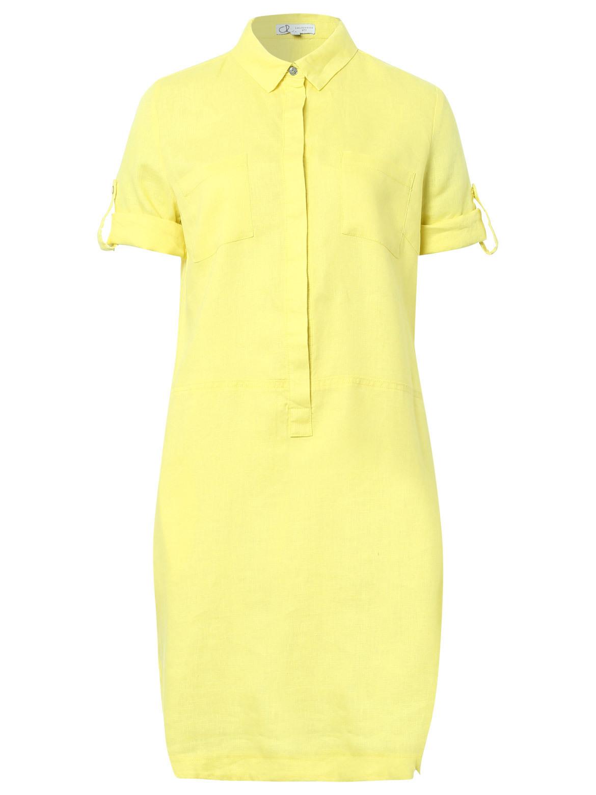 Chelsea Rose » Hemdblusenkleid Aus Leinen  Online Kaufen