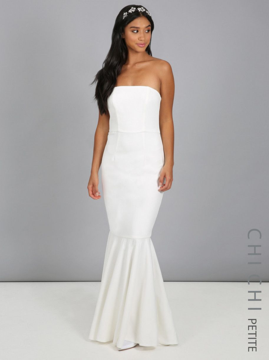 Chi Chi Bridal Petite Sarah Dress  Chichiclothing