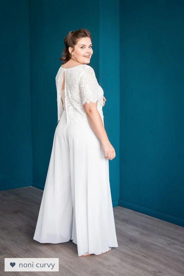 Chiffonhosenrock Mit Weitem Bein Für Die Hochzeit
