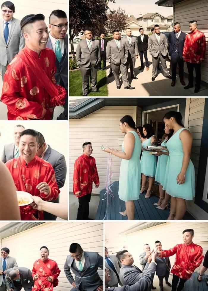 Chinesische Hochzeit  Hochzeitsbräuche Inspirationen  Fotos