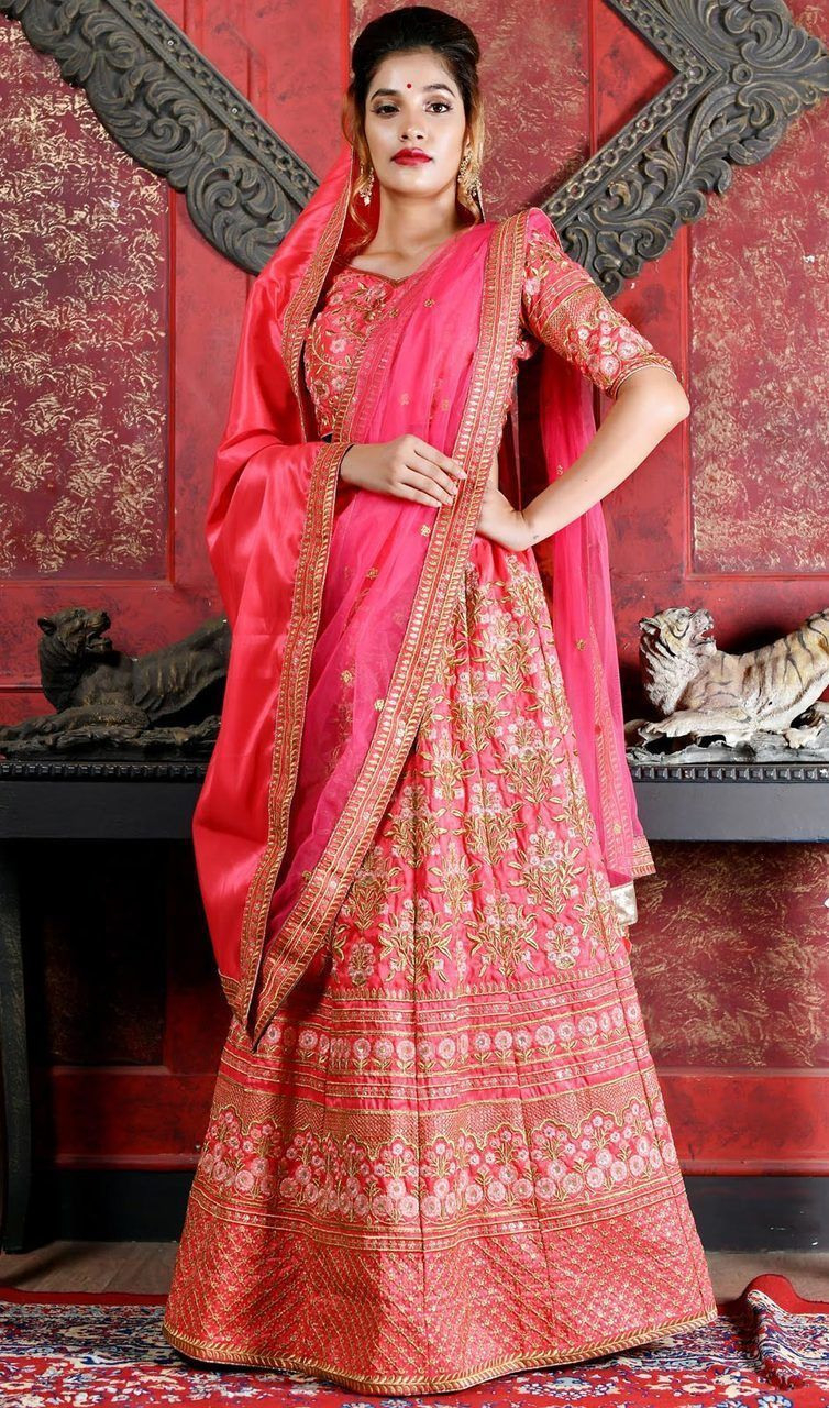 Cholie Color Embroidered Fashion Designers Wedding