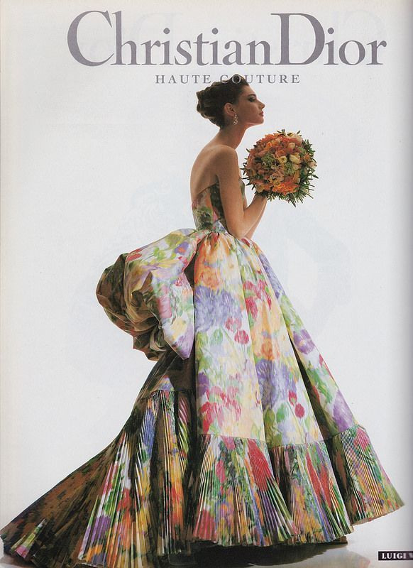 Christian Dior Haute Couture 1992  Christian Couture