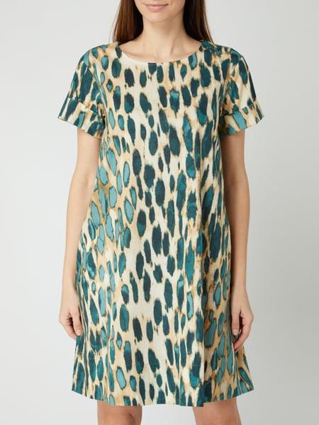 Cinque Kleid Mit Allovermuster Modell 'Cididdy' In Weiß