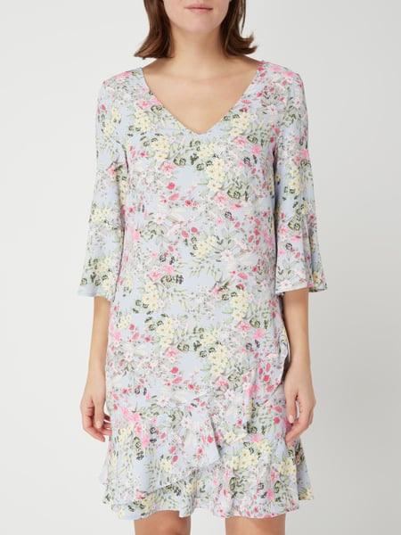 Cinque Kleid Mit Floralem Muster In Blau / Türkis Online