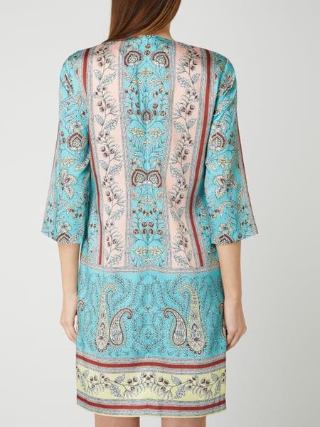 Cinque Kleid Mit Mustermix Modell 'Cieast' In Blau