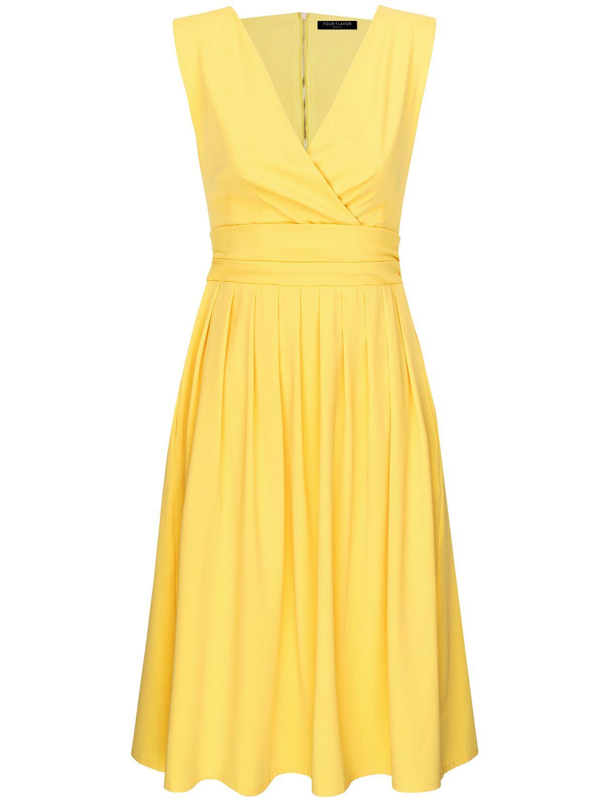 Classic Flavor Aboutyoude Ladlylike Kleid Mit Leicht