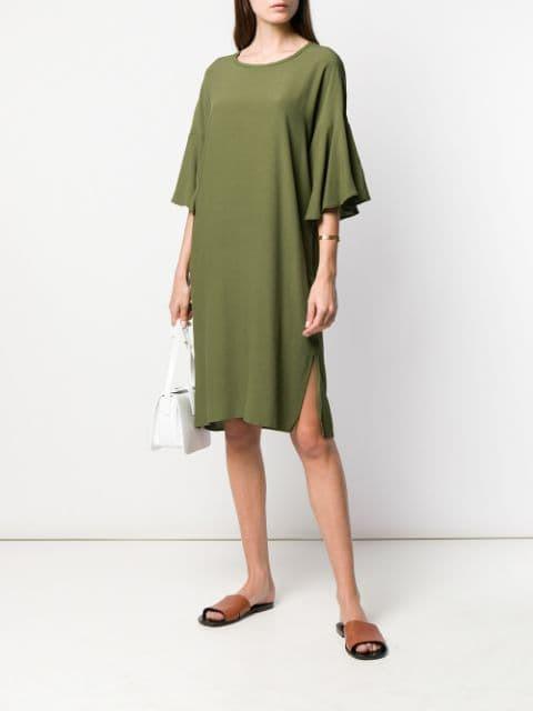 Closed Lockeres Kleid Damen 612 Green Kleidung