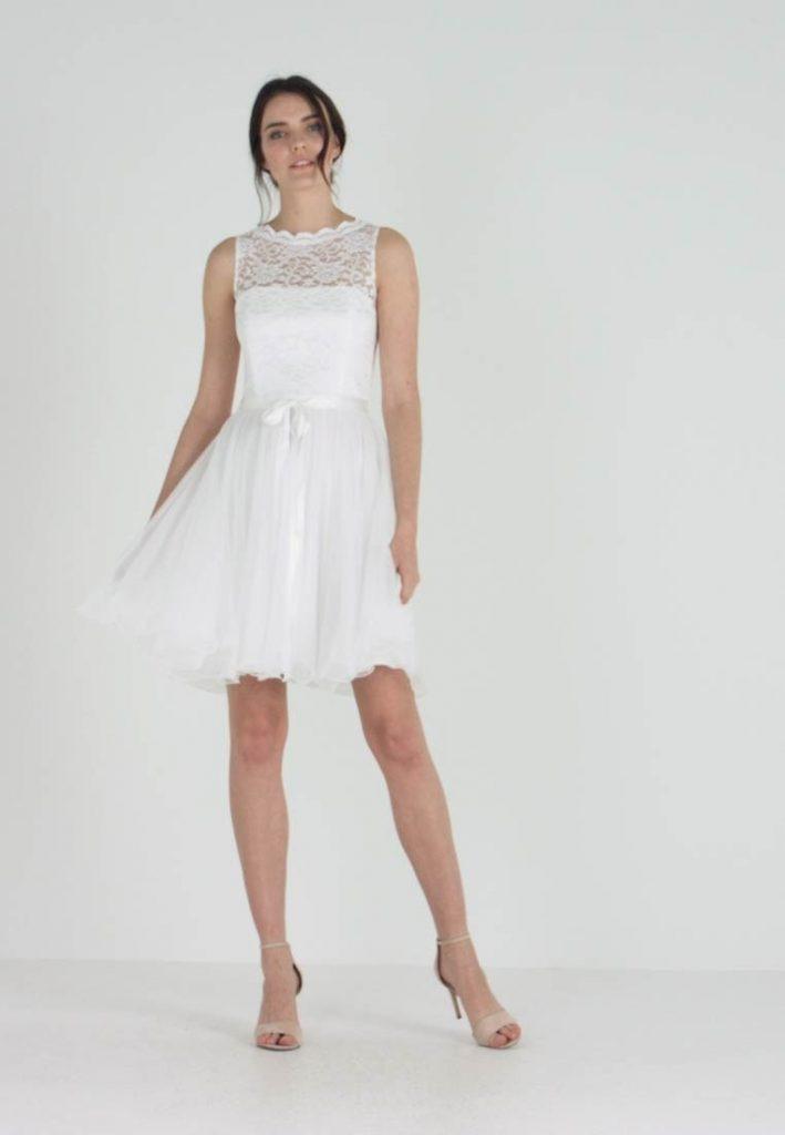 Cocktailkleid/Festliches Kleid  Cremeweiss  Abendkleid