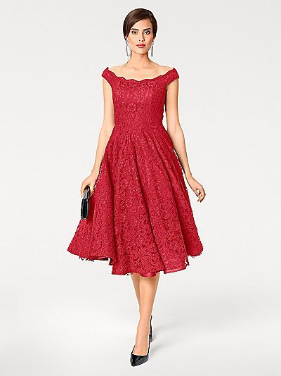Cocktailkleid Mit Petticoat Mit Petticoat Für Damen
