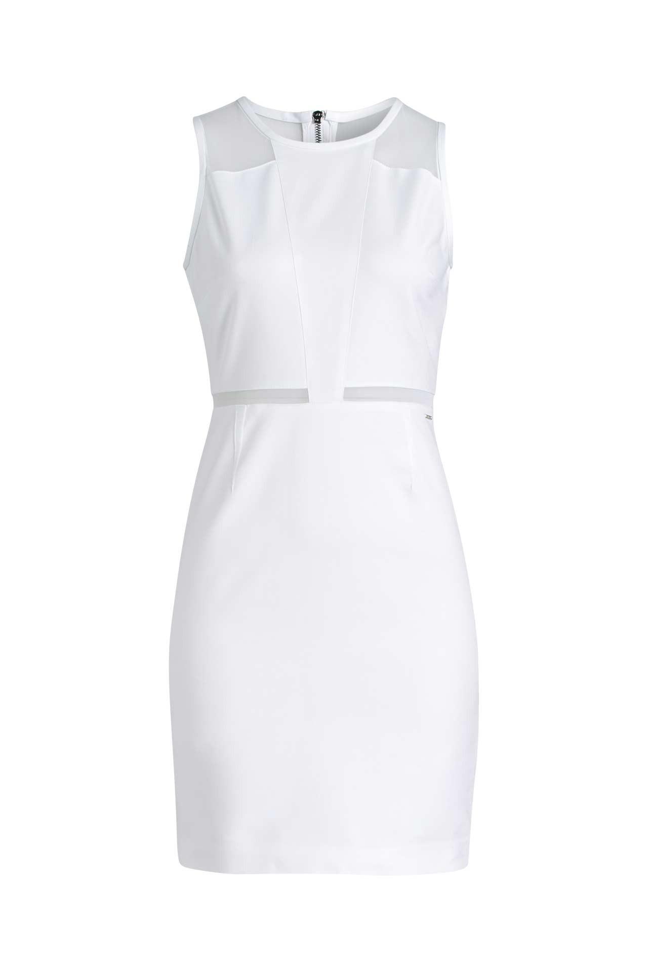 Cocktailkleid Weiß  Ck Jeans » Günstig Online Kaufen