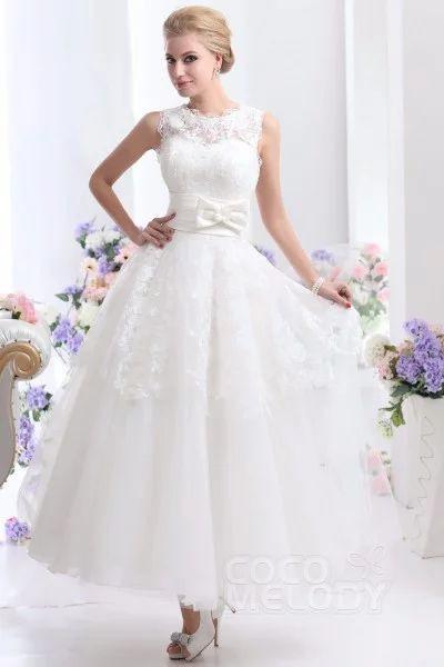 Cocomelody Hochzeitskleider Brautkleider Alinie