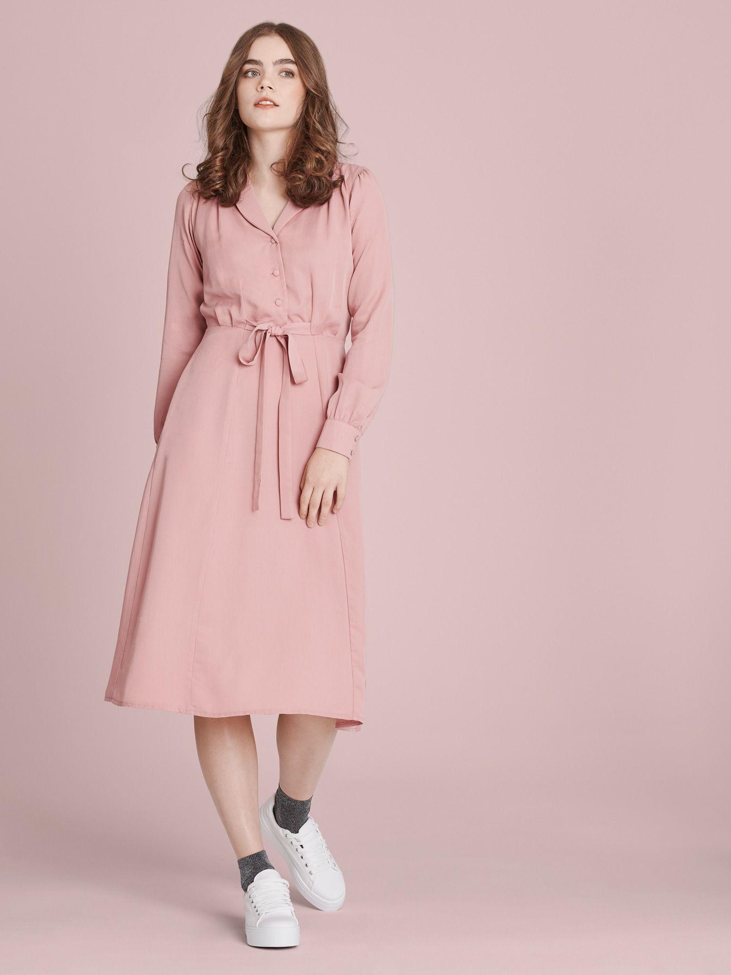 Coffee With Cream Kleid  Pink  Pinkes Kleid Kleider