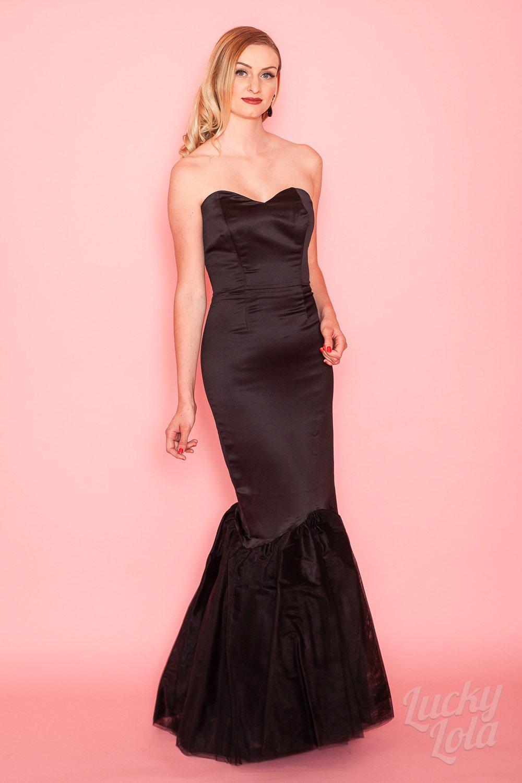 Collectif Luna Mermaid Glam Maxi Evening Kleid