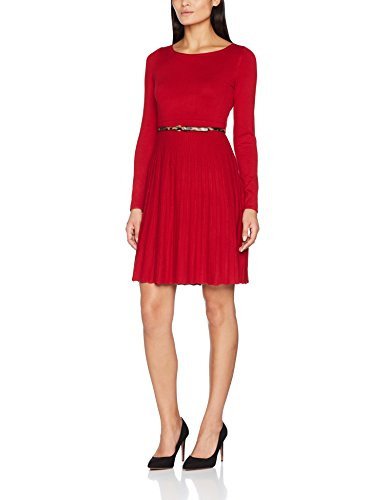Comma Damen Kleid 8T710824010 Rot Red Carpet 3660 38